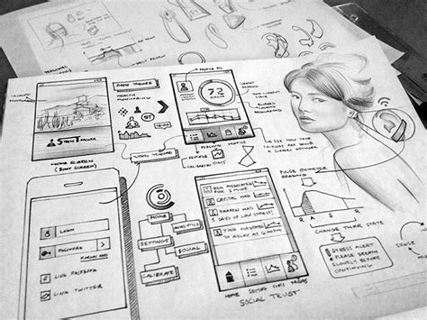 layout web sketch 34 detailed ui concept sketches web graphic design