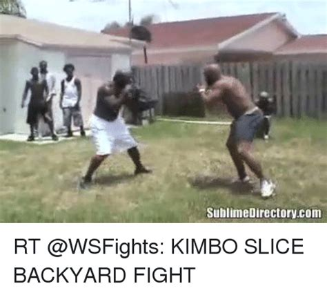 kimbo slice backyard fighting sublime directorycom rt kimbo slice backyard fight funny meme on sizzle