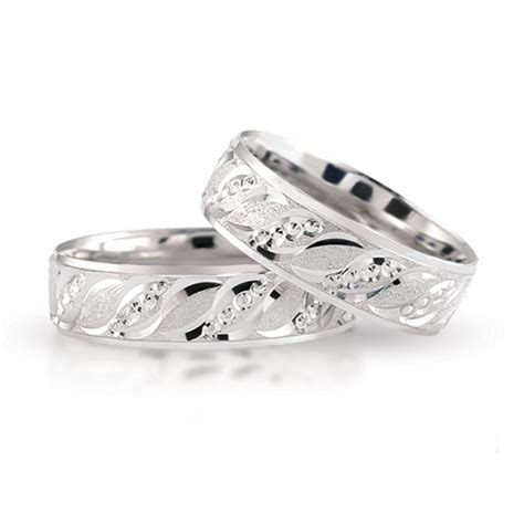 Silber Trauringe by Silber Trauringe 925 Sterling Eheringe 1040 Paarpreis