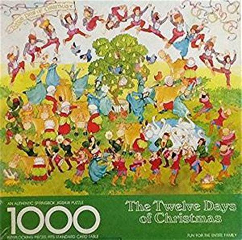 "amazon.com: ""twelve days of christmas"" vintage springbok"