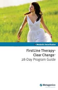 Metagenics Detox Program by 28 Day Detox Program Guide By Metagenics