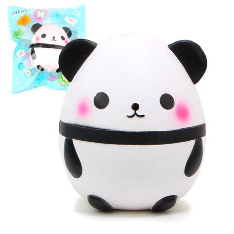 15 cm jumbo panda egg squishy squishykawaiicharmstores