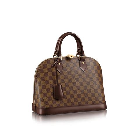 Lv Alma Damier 1 alma pm damier ebene canvas handbags louis vuitton