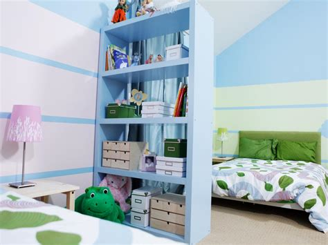 shared kids bedroom ideas how to divide a shared kids room hgtv