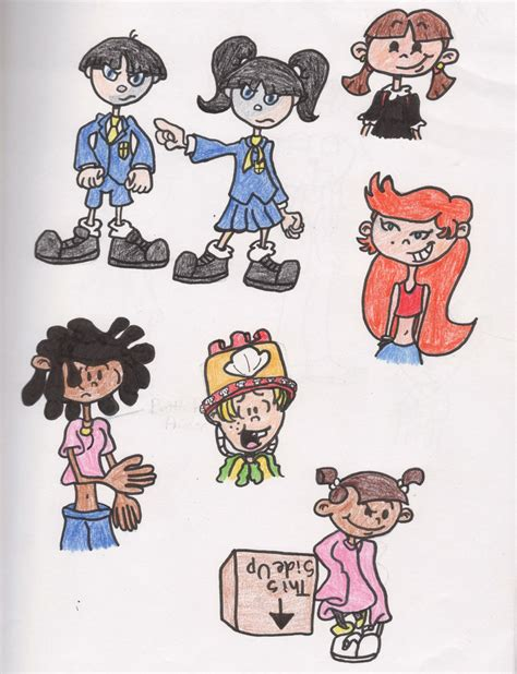Next Door Characters knd character study 2 by tefuna on deviantart
