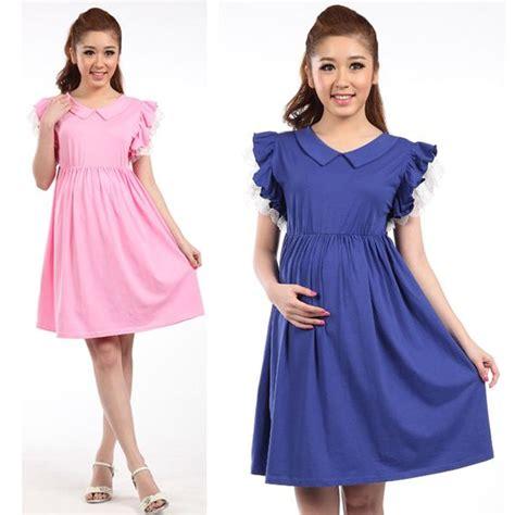 Busana Dress Wanita Arc 004 fitinline aplikasi ruffles pada busana wanita