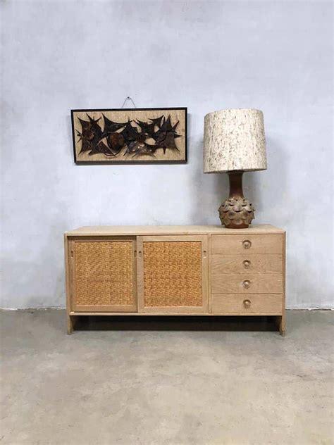 vintage danish design sideboard cabinet dressoir hans wegner ry