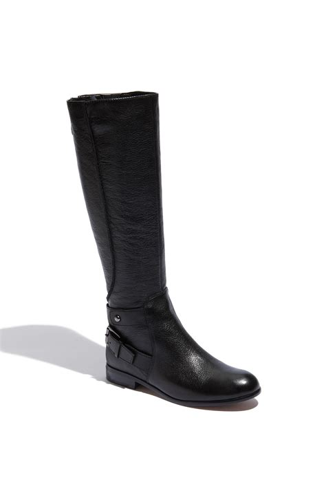 enzo boots enzo angiolini valetta boot in black lyst