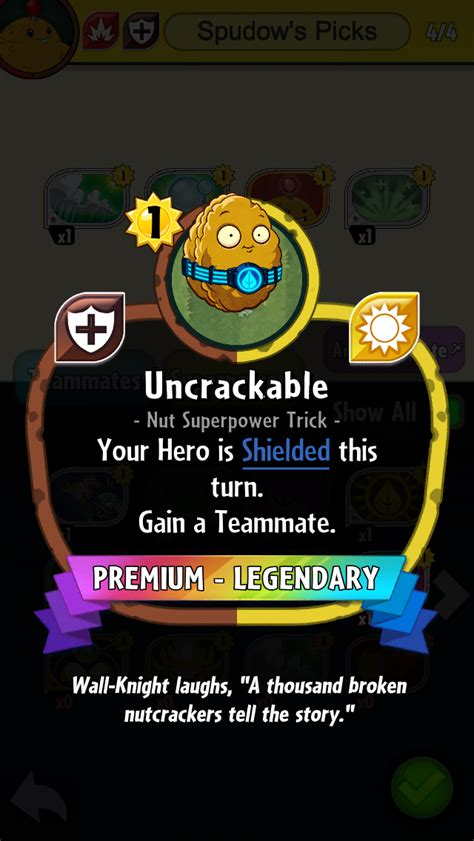 Pvz Heroes Card Template uncrackable plants vs zombies wiki fandom powered by