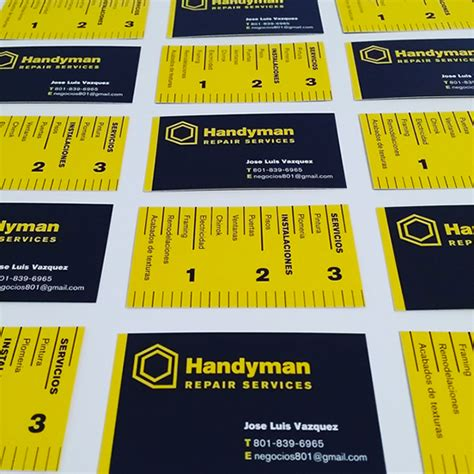 handyman business cards templates free handyman business cards free templates images card