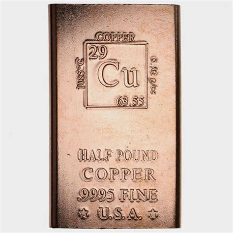 1 lb silver bar buy 1 2 pound copper bullion bars 999 1 2 lb l jm bullion