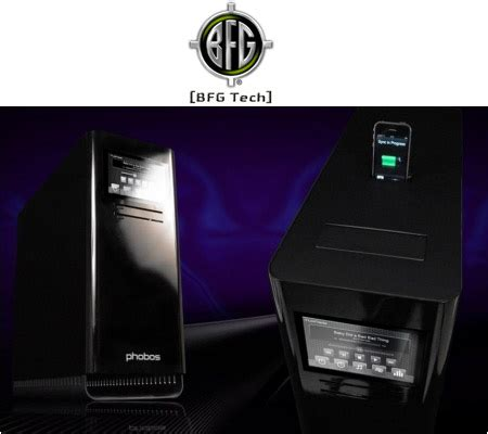 bfg technologies unveils phobos performance gaming home