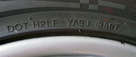 production date code dot date code tire age explained tires easy