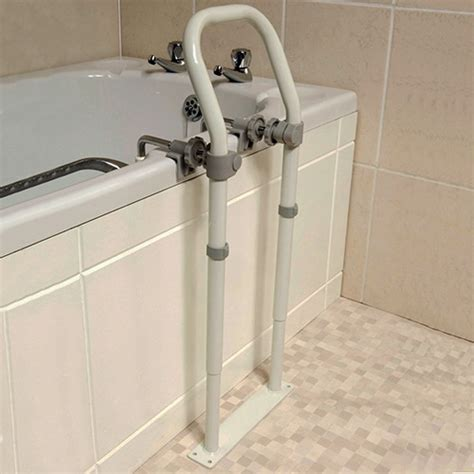 bathtub handrail swedish bath grab rail bath grab rails complete care shop