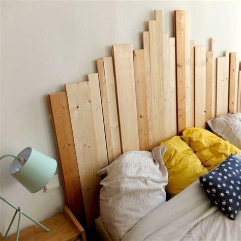 faire une tete de lit avec une planche en bois faire un lit soi meme mg43 jornalagora