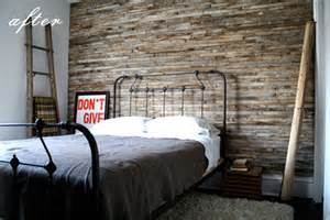 Distressed Wood Bedroom Wall Inspiration Wood Pallet Walls