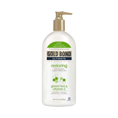 viva lotion green tea gold bond ultimate restoring lotion with green tea and