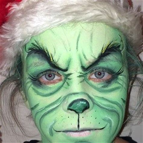 and our faces my grinch face paint myideasbedroom com