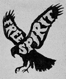 free spirit t shirt design by joe horacek logo designer