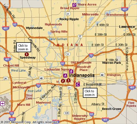 indianapolis map usa indianapolis map travelsfinders