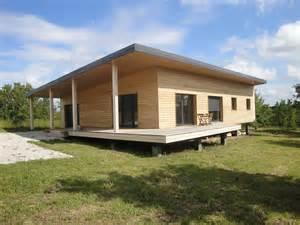 maison contemporaine en ossature bois par evobois la