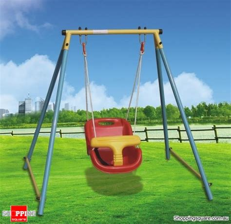 swing sets for babies indoor outdoor baby toddler swing set for age 6 months