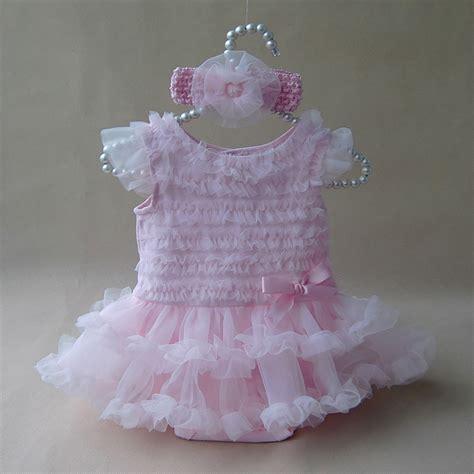 J Baby Romper Princess 3 12m princess baby clothes lace ruffle dress summer sleeveless romper dress headband 2pc set
