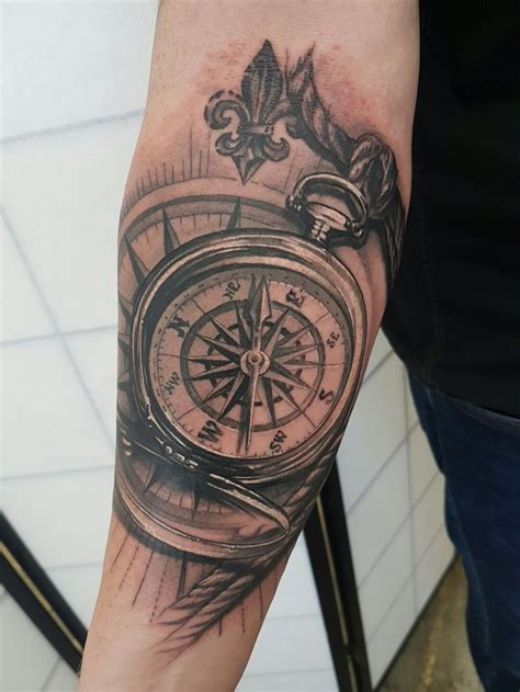 compass tattoo shop 40 best clock and tree tattoo images on pinterest clocks