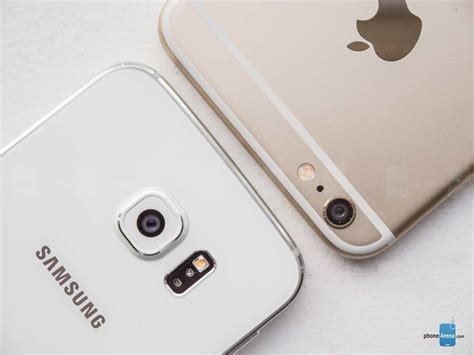 samsung v apple apple iphone 6s plus vs samsung galaxy s6 edge plus confronto tecnico e foto mobileos it