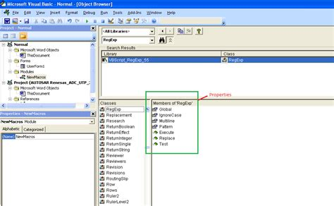 pattern regex vba how to use enable regexp object regular expression using