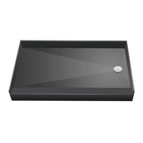 32x60 Shower Pan by Redi Base 174 34x60 Single Curb Shower Pan With Right Drain