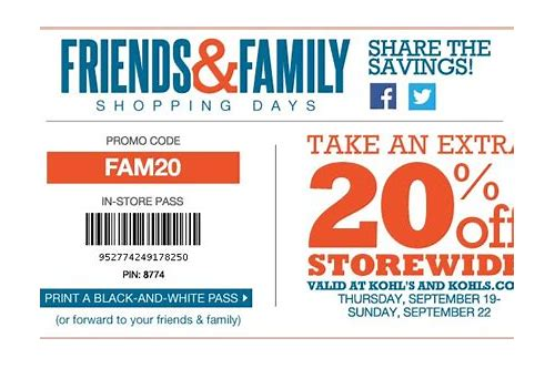 20 coupon from kohls