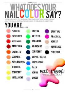 what does your color what does your nail color say about you polished nail