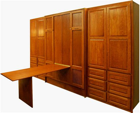 murphy bed with table murphy beds
