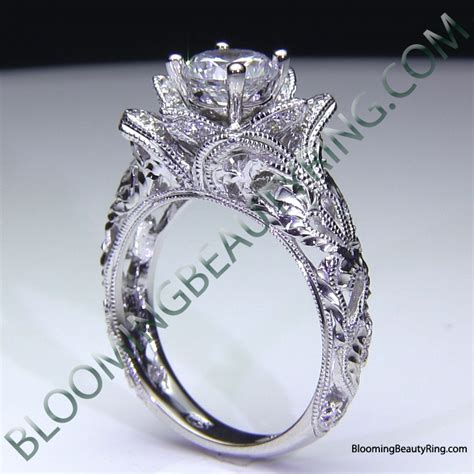 blooming engagement ring collection unique