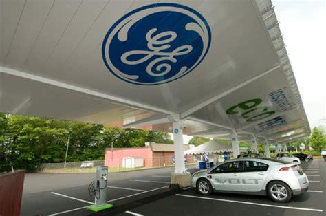 build your own ev charging station ge builds ev charging solar carport in connecticut