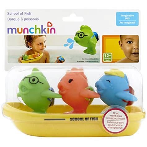 munchkin bathtub munchkin bath toy school of fish new ebay