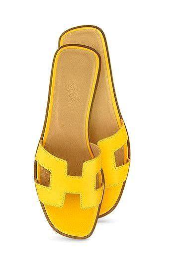 Sandal Wedges Selop Hermes Orange Diskon 8 best hermes images on flat sandals hermes oran sandals and hermes shoes