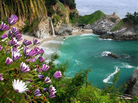 Pch Homepage - mcway falls at julia pfeiffer burns state park big sur california scenic pacific
