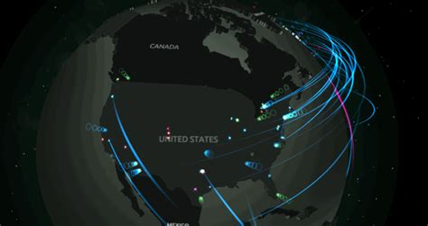 network attack map terrifying interactive map shows global cyber attacks