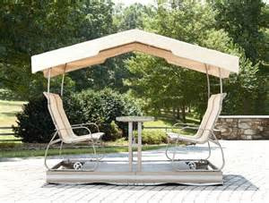 Glider Canopy by 17 Best Ideas About Patio Swing With Canopy On Pinterest