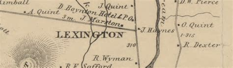 somerset county section 8 map of somerset co me 1860 cd