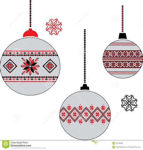 ukrainian christmas ball stock image image of fluffy