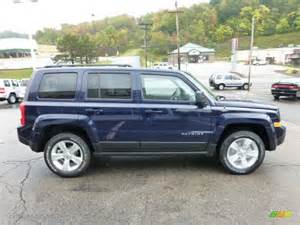 Blue Jeep Patriot True Blue Pearl 2013 Jeep Patriot Sport 4x4 Exterior Photo