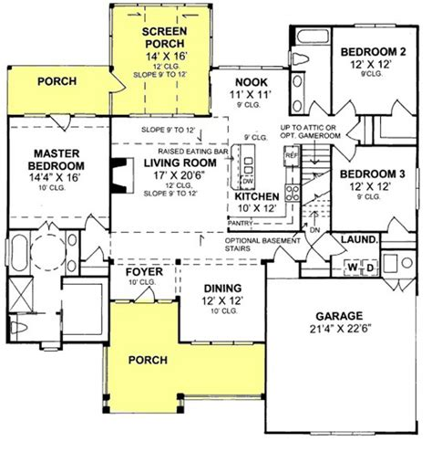 accessible house plans 655885 traditional farmhouse 3 bedroom 2 bath with