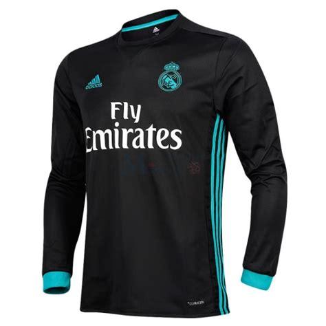 imagenes camiseta negra real madrid camiseta real madrid segunda equipaci 243 n 2017 2018 manga