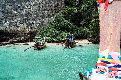 beaches  krabi thailand  visit    map