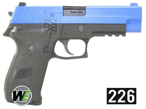 Airsoft Gun Laras Panjang Gas we 226 metal gas blowback pistol