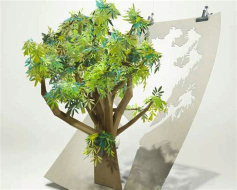 Tree With Paper - bsc living in the environment trees and how the paper