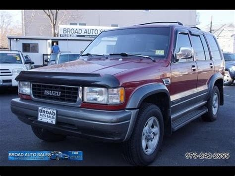 i just got a 1995 isuzu trooper and it wont start i think it may have something to do with anti 1995 isuzu trooper ls 4wd youtube